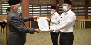 Sekda Serahkan SK PNS Pemerintah Aceh Formasi Tahun 2018