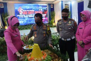 Wakapolda Aceh Pimpin Syukuran Hari Lalulintas Bhayangkara Ke 65