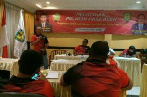 PASI Aceh Gelar Pelatihan Pelatih, Ini Pemateri dan Tujuannya