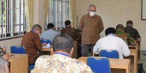 Sekda Pantau Pelaksanaan Seleksi Eselon II di Lingkungan Pemerintah Aceh