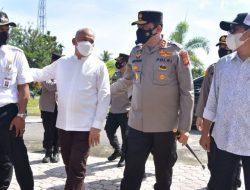 Sekda Aceh Dampingi Kapolda Kukuhkan Duta Vaksin Siswa Aceh Timur