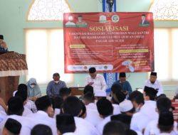 Pemerintah Aceh Ajak Santri MUQ Pagar Air Ikut Berikan Pemahaman Positif Vaksinasi kepada Masyarakat