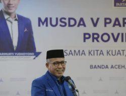 Musda Demokrat Aceh, Ini Pesan Gubernur Aceh