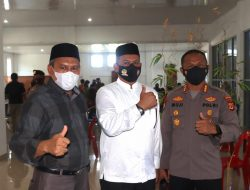 Kerja Sama Polda Aceh Dengan Disdik, Ratusan Siswa SMKN Almubarkeya Jalani Vaksin