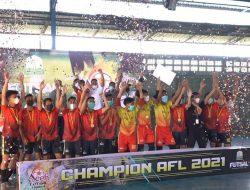 """""""Selamat, Aceh Timur Maximum Juara Aceh Futsal League 2021"""
