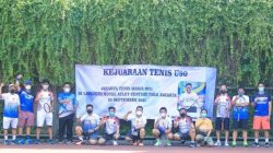 """""""Aminullah/Budi Juara Tenis U-90 """"Jakarta Tenis Mania 2021"""""""