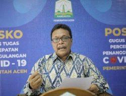 Lagi, 880 Pasien Covid-19 Sembuh di Aceh