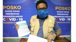 Pasien Covid-19 Sembuh 494 Orang, 88 Kasus Baru di Aceh