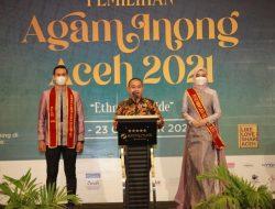 Opening Ceremony Pemilihan Agam Inong Aceh 2021 berlangsung meriah, dengan Protokol kesehatan