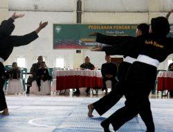 Kodim 0101/Aceh Besar Gelar Pagelaran Pencak Silat, Ini Tujuannya